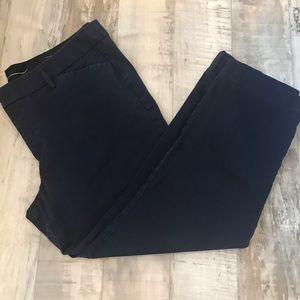 a.n.a Pants - A N A women's cotton pants. Size 16. Navy